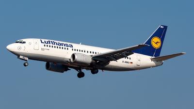 D-ABEU - Boeing 737-330 - Lufthansa