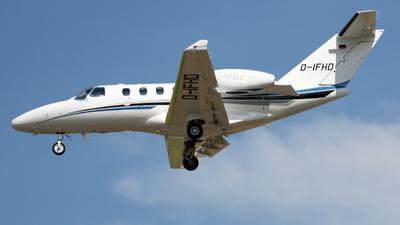 D-IFHD - Cessna 525 CitationJet M2 - E-Aviation