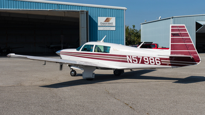 N57986 - Mooney M20J - Private