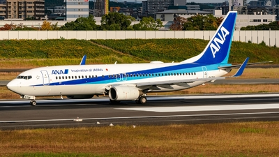 A picture of JA57AN - Boeing 737881 - All Nippon Airways - © S Waki
