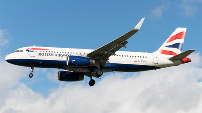 G-EUYU - Airbus A320-232 - British Airways
