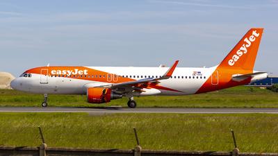 OE-IVU - Airbus A320-214 - easyJet Europe