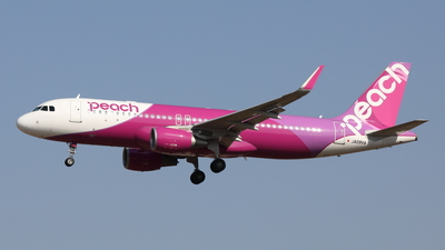 JA09VA - Airbus A320-214 - Peach Aviation