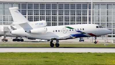 VP-CGE - Dassault Falcon 900EX - VW Air Services