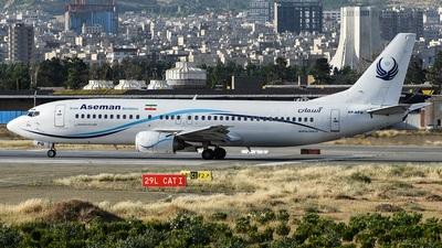 EP-APQ - Boeing 737-4H6 - Iran Aseman Airlines