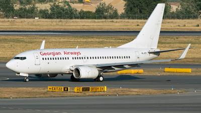 A picture of 4LGTI - Boeing 7377CT - Georgian Airways - © Martin O.