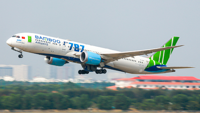A picture of VNA819 - Boeing 7879 Dreamliner - Bamboo Airways - © nguyen tan khai