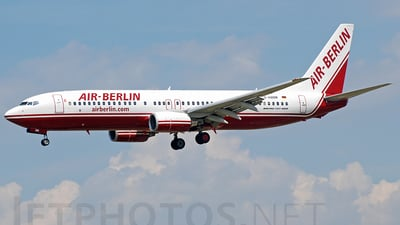 D-ABBM - Boeing 737-85F - Air Berlin