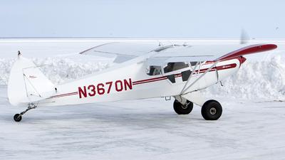 A picture of N3670N - Piper PA12 Super Cruiser - [121921] - © Jeremy D. Dando