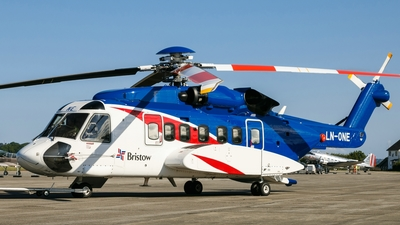 A picture of LNONE - Sikorsky S92A - Bristow Helicopters - © Johannes Herrmann