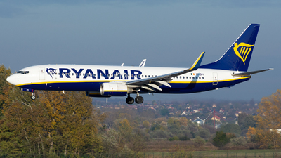 A picture of EIDPI - Boeing 7378AS - Ryanair - © András Soós
