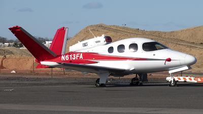N613FA - Cirrus Vision SF50 - Private
