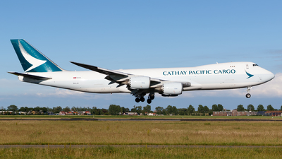 A picture of BLJA - Boeing 747867(F) - Cathay Pacific - © Matteo Lamberts