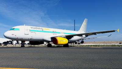 A picture of ECMVM - Airbus A320232 - Vueling - © Javier Rodriguez - Amics de Son Sant Joan