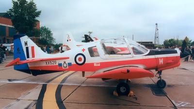 XX529 - Scottish Aviation Bulldog T.1 - United Kingdom - Royal Air Force (RAF)