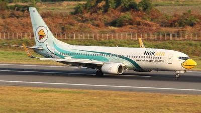 HS-DBO - Boeing 737-8AS - Nok Air