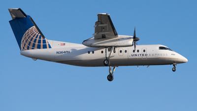 A picture of N364PH - De Havilland Canada Dash 8200 - [524] - © Shelley Neill