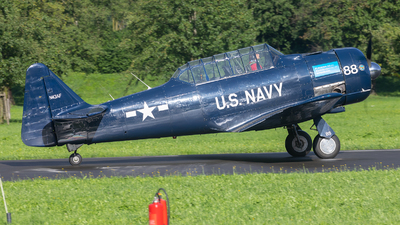 N43AF - North American SNJ-5 Texan - Private