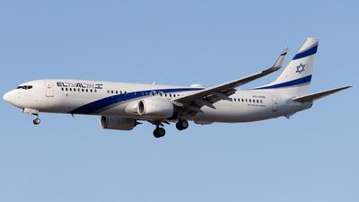 A picture of 4XEHB - Boeing 737958(ER) - El Al - © RobertLN