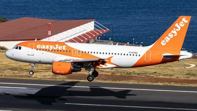 A picture of GEZBA - Airbus A319111 - easyJet - © Guilherme Sousa