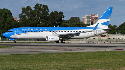 A picture of LVFSK - Boeing 7378BK - Aerolineas Argentinas - © PAUL LINK