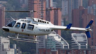 HK-4936 - Bell 206L-3 LongRanger III - Volar Colombia