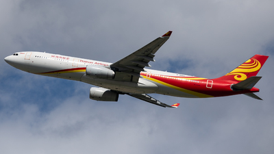 A picture of B8015 - Airbus A330343 - Hainan Airlines - © Ren LanMing
