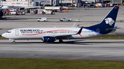 N957AM - Boeing 737-852 - Aeroméxico