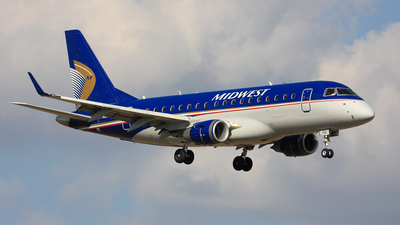 N826MD - Embraer 170-100SU - Midwest Airlines (Republic Airlines)