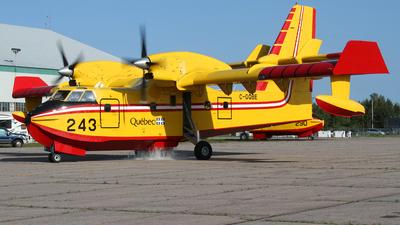 C-GQBE - Canadair CL-415 - Canada - Quebec Service Aerien Gouvernemental