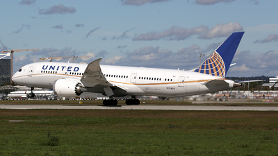 A picture of N26909 - Boeing 7878 Dreamliner - United Airlines - © Stefan Mayer
