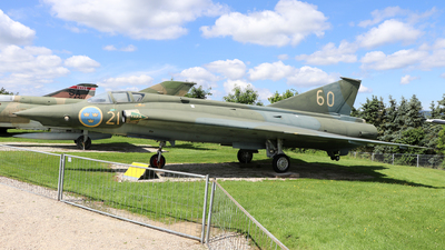 35931 - Saab J-35E Draken - Sweden - Air Force