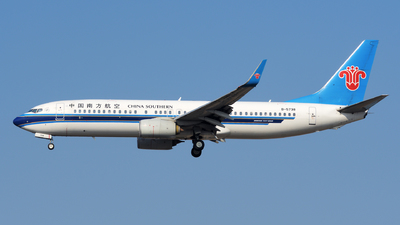 B-5738 - Boeing 737-81B - China Southern Airlines