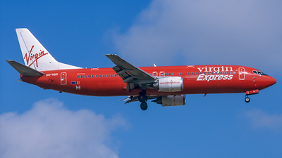 OO-VBR - Boeing 737-4Y0 - Virgin Express