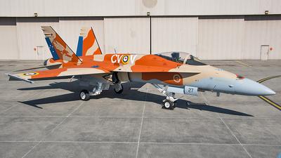 A21-27 - McDonnell Douglas F-18A Hornet - Australia - Royal Australian Air Force (RAAF)