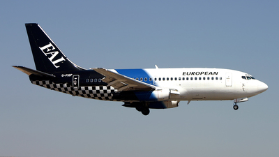 G-FIGP - Boeing 737-2E7(Adv) - European Aviation (EAL)