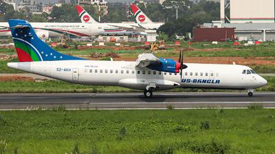 S2-AKH - ATR 72-212A(600) - US-Bangla Airlines
