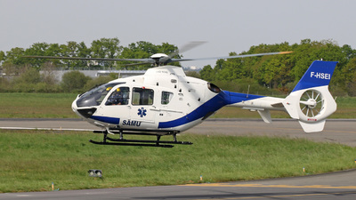 F-HSEI - Eurocopter EC 135P2 - Babcock MCS France