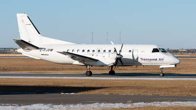 C-FJVW - Saab 340B - Transwest Air