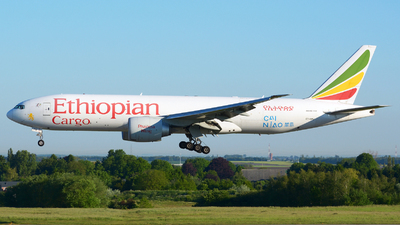 A picture of ETAPU - Boeing 777F6N - Ethiopian Airlines - © Jeremy Denton