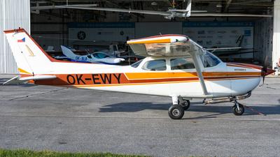 OK-EWY - Reims-Cessna F172M Skyhawk II - Aero Club - Ceske Budejovice
