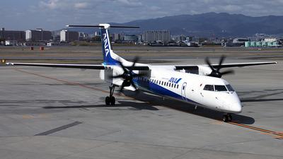 JA841A - Bombardier Dash 8-Q402 - ANA Wings