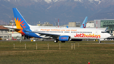 A picture of GDRTH - Boeing 7378BK - Jet2 - © Muccapazza75 - Leone Roberto