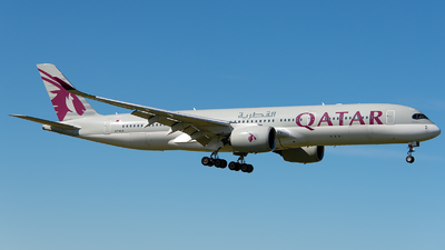 A picture of A7ALA - Airbus A350941 - Qatar Airways - © GoldenWingPix