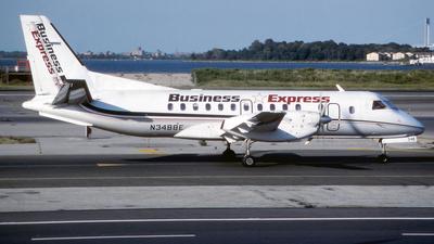 N348BE - Saab 340B - Business Express (BEX)