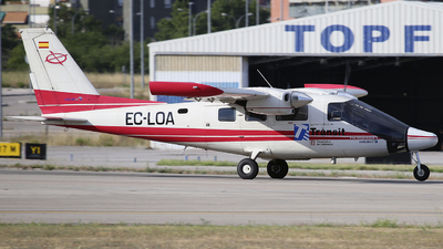 EC-LOA - Vulcanair P-68 Observer 2 - Spain - Government of Catalonia