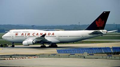C-GAGN - Boeing 747-433(M) - Air Canada