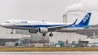 D-AYAH - Airbus A321-272N - All Nippon Airways (ANA)
