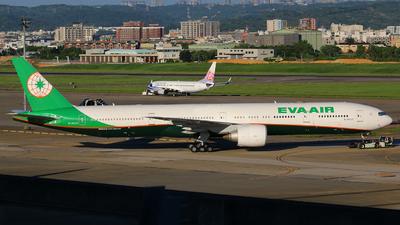 B-16737 - Boeing 777-3ALER - Eva Air