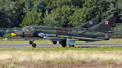 3715 - Sukhoi Su-22M4 Fitter K - Poland - Air Force